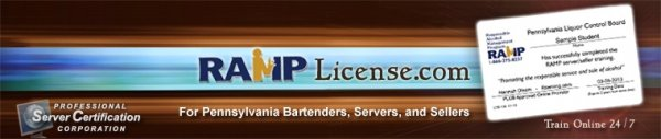 Ramp License For Serving Alcohol In Pennsylvania 7 99